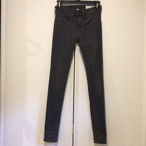 Rag & Bone Gray Skinny Legging Pants Sz 24